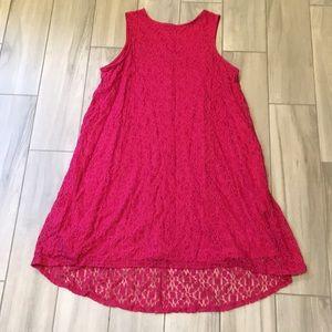 Apt 9 size 16 pink dress